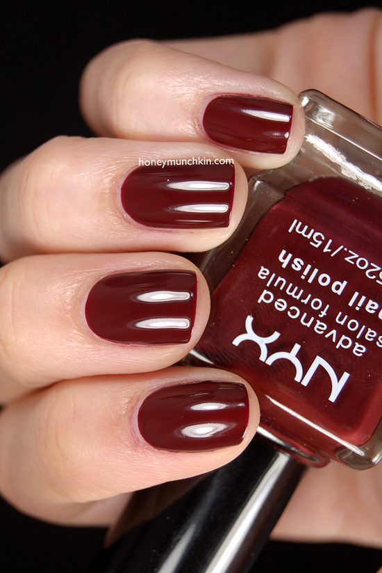 NYX - NPS195 Red Wine from honeymunchkin.com
