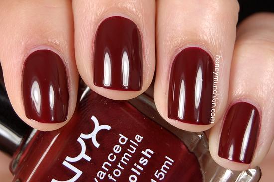 NYX - NPS195 Red Wine from honeymunchkin.com