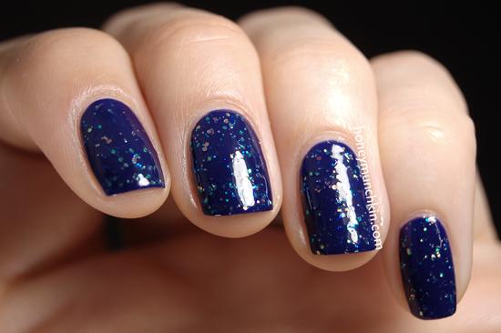 NYX - NPS21 Blue Glitter from honeymunchkin.com