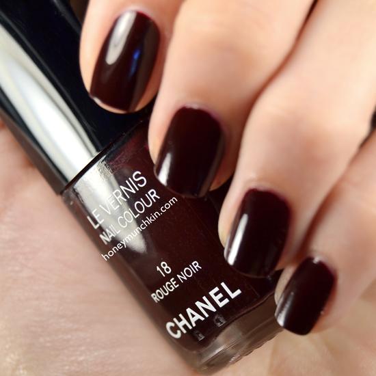 Chanel - 18 Rouge Noir from honeymunchkin.com