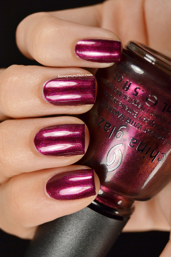 China Glaze - Cowgirl Up from honeymunchkin.com