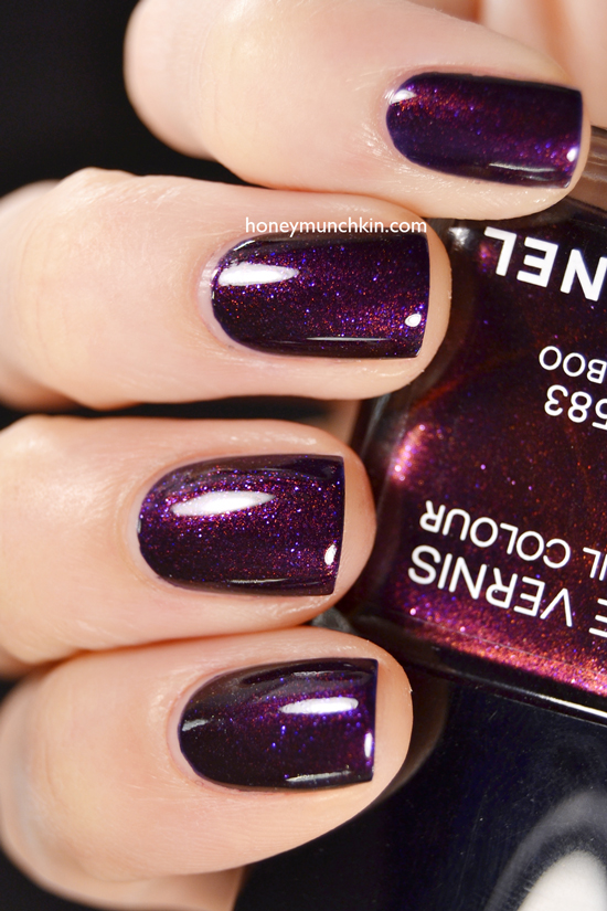 Swatch of Chanel - 583 Taboo by honeymunchkin.com