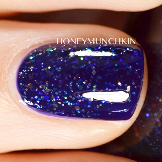 Swatch of China Glaze - Meteor Shower by honeymunchkin.com