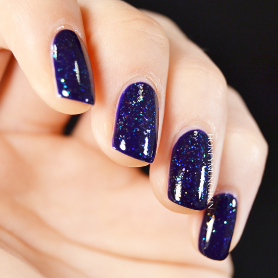 Swatch of China Glaze - Meteor Shower by honeymunchkin.com