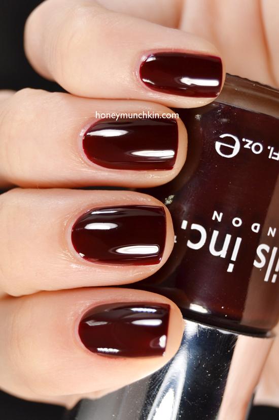 Swatch of nail inc. - victoria by honeymunchkin.com