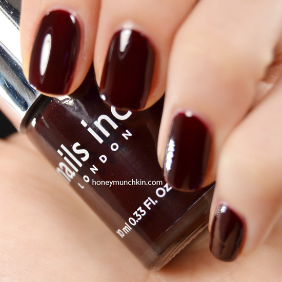 Swatch of nail inc. - victoria by honeymunchkin.com