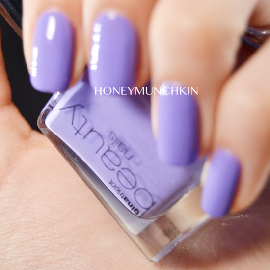 Swatch of Gina Tricot Beauty - 139 Purple Mint by honeymunchkin.com