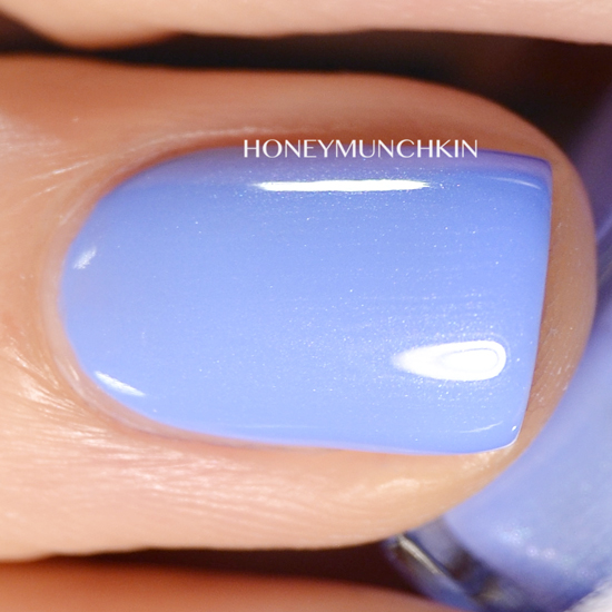 Swatch of Gina Tricot Beauty - 152 Minty Lavender by honeymunchkin.com