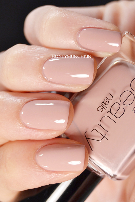 Swatch of Gina Tricot Beauty - 176 Power Pink by honeymunchkin.com