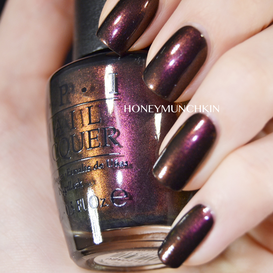 Swatch of OPI - Muir Muir on the Wall by honeymunchkin.com
