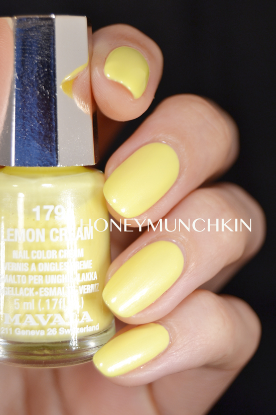 Mavala - 179 Lemon Cream by honeymunchkin.com