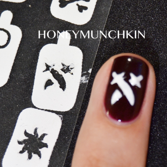 Kiss Nail Artist Paint & Stencil Kit by honeymunchkin.com
