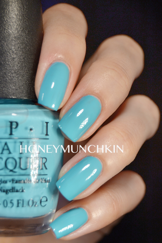 Swatch of OPI - Can't Find my Czechbook by honeymunchkin.com