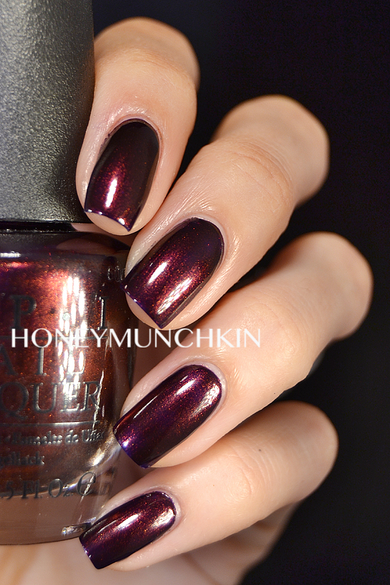 Swatch of OPI - Every Month is Oktoberfest by honeymunchkin.com
