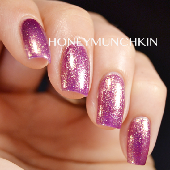 Swatch of OPI - It's MY Year by honeymunchkin.com