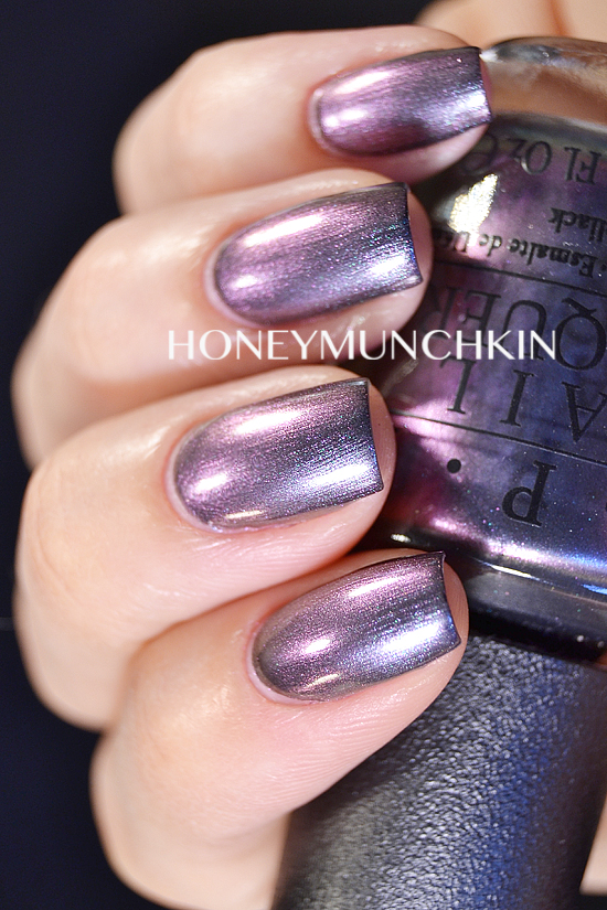 Swatch of OPI - Peace & Love & OPI by honeymunchkin.com