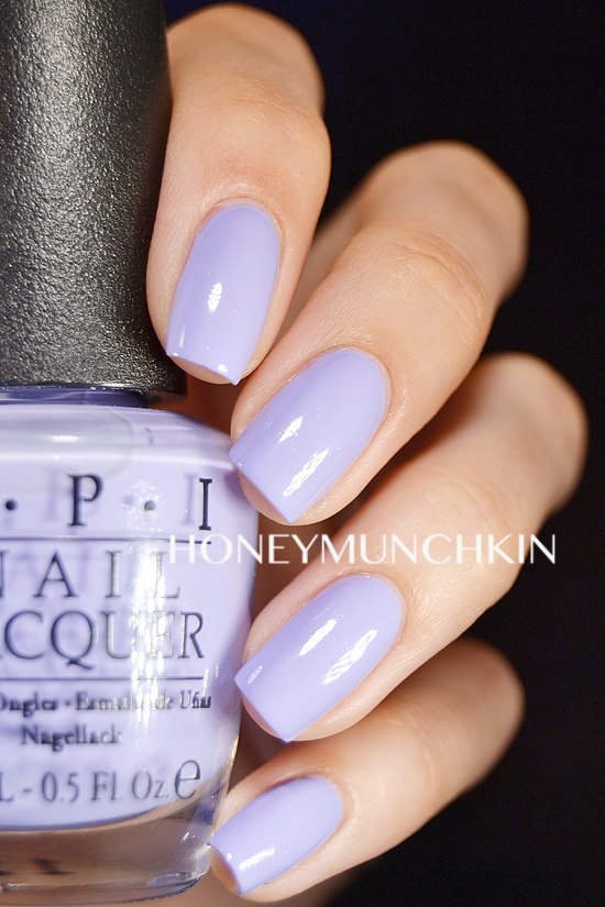 Swatch of OPI - You're Such a Budapest by honeymunchkin.com