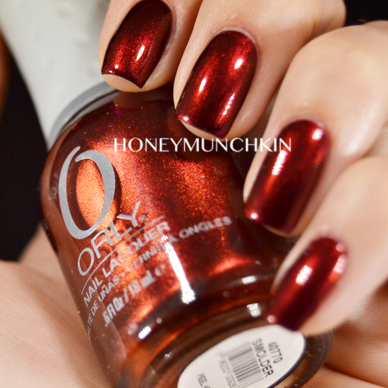Swatch of ORLY - Smolder by honeymunchkin.com