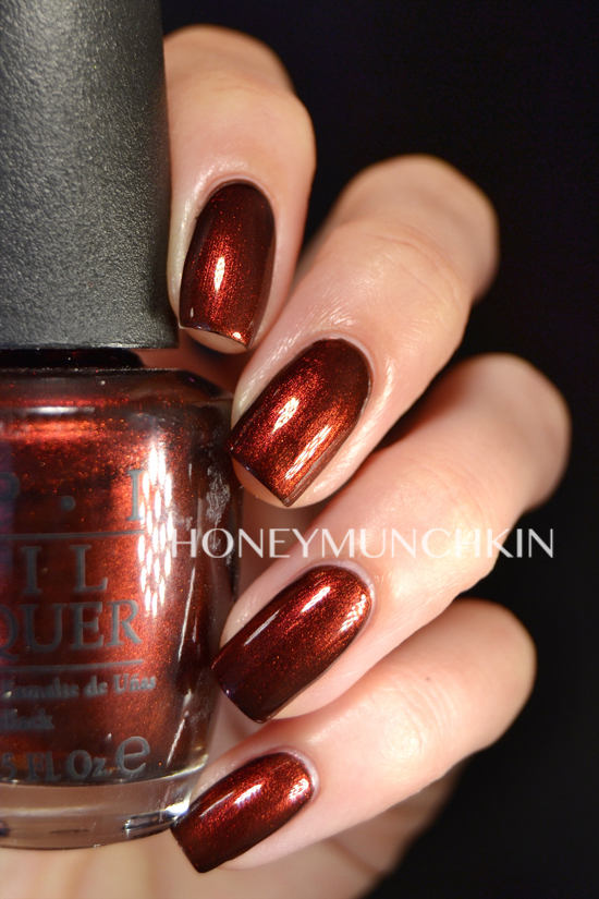 Swatch of OPI - German-icure by OPI by honeymunchkin.com