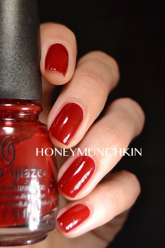 Swatch Of China Glaze