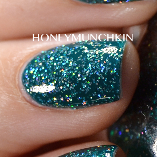 Swatch of China Glaze - Atlantis by honeymunchkin.com