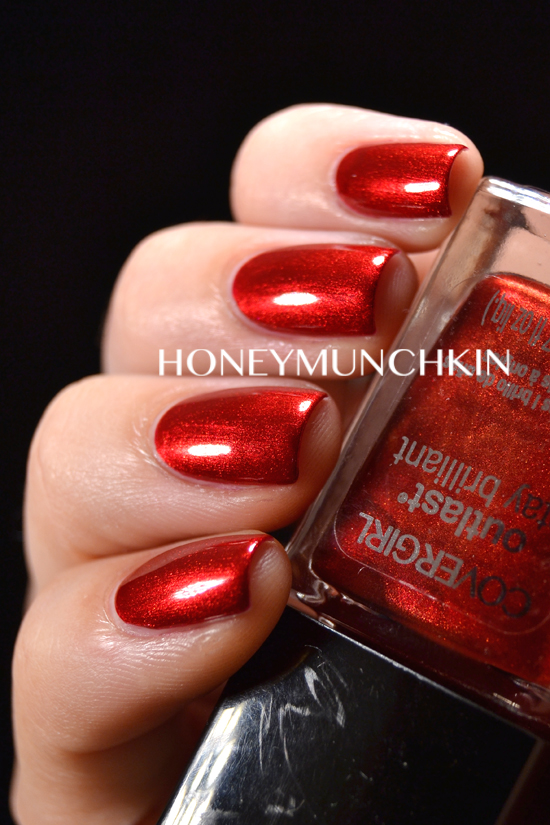 Swatch of Covergirl - Forever Festive by honeymunchkin.com