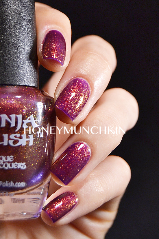 Swatch of Ninja Polish - Divinity by honeymunchkin.com