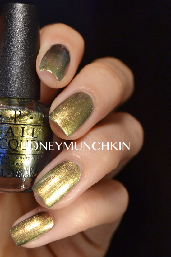 Swatch of OPI - Just Spotted the Lizard by honeymunchkin.com