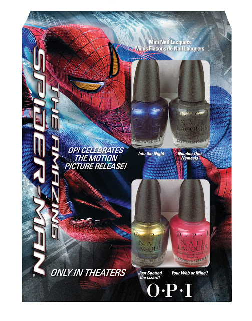 OPI Spider-man mini collection