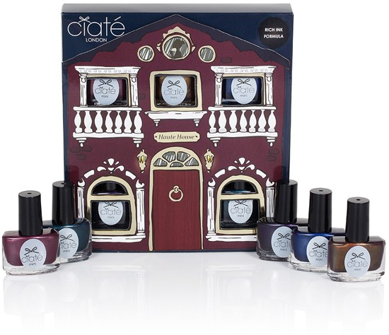 Swatches of Ciaté Haute House mini collection by honeymunchkin.com