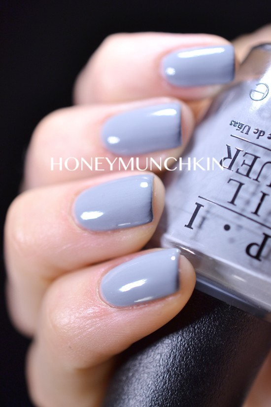 Swatches of OPI – 50 Shades of Grey Collection – honeymunchkin