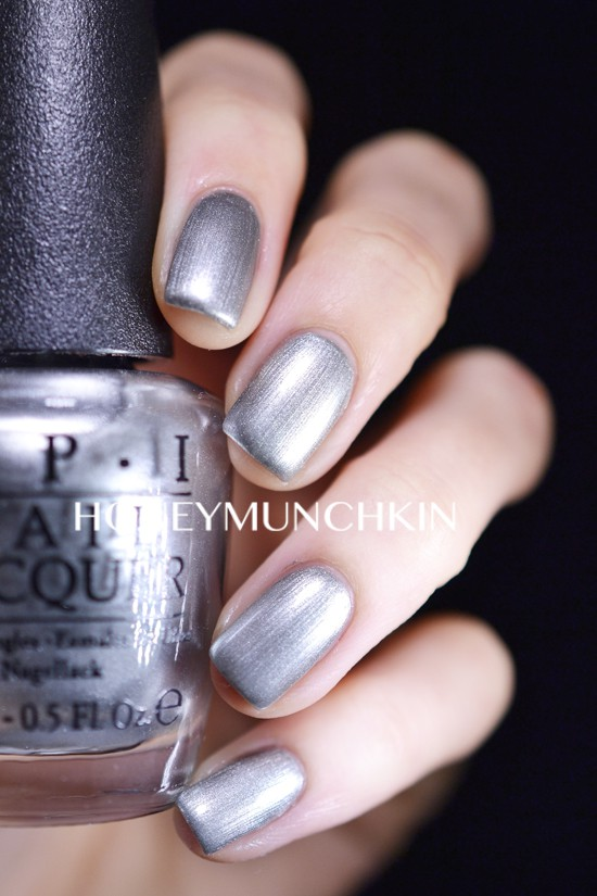 Swatch of OPI - My Silk Tie from 50 Shades of Grey Collection by honeymunchkin.com