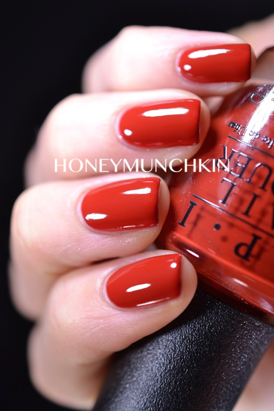 Swatch of OPI - Romantically Involved from 50 Shades of Grey Collection by honeymunchkin.com