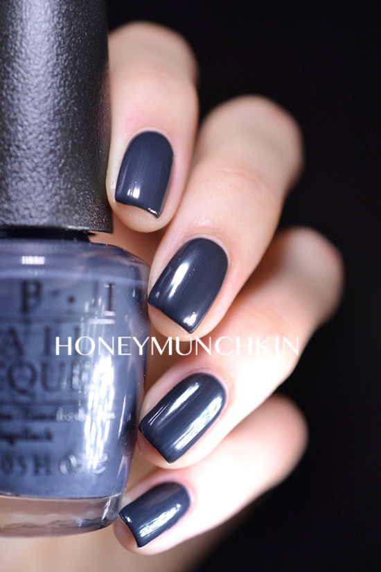 Swatch of OPI - Dark Side of the Mood from 50 Shades of Grey Collection by honeymunchkin.com
