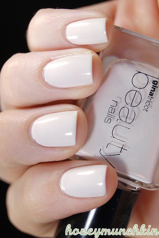 Swatch Of Gina Tricot Beauty 116 Cream Honeymunchkin